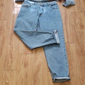 Vintage Levi's 550 mom jeans
